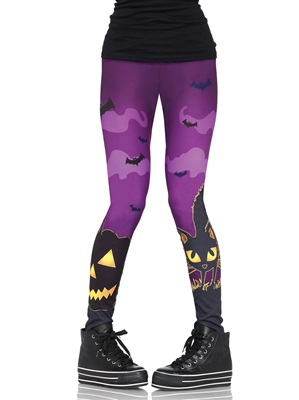 Spooky Print Leggings