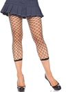 Diamond Net Footless Tights