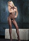 Open Bust And Crotch Fishnet Bodystocking
