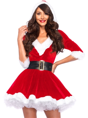 Leg Avenue Mrs. Claus 2 PC Costume