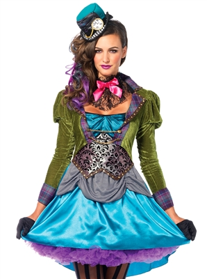 Leg Avenue Deluxe Mad Hatter 3 PC Costume