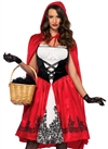 Leg Avenue Classic Red Riding Hood 2 PC Costume