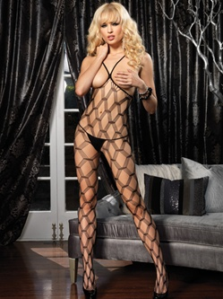 Hardcore Open Cup Bodystocking