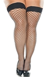 Lycra Industrial Net Thigh Highs