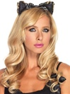 Plush Cheetah Headband