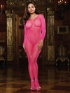 Plus Size Fishnet Open Crotch Bodystocking