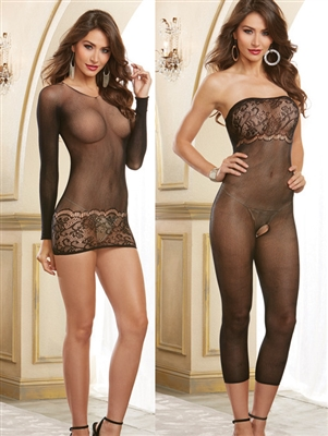 Multi-Way 2-in-1 Sheer Bodystocking