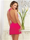 Cotton Open Back Venice Trim Chemise
