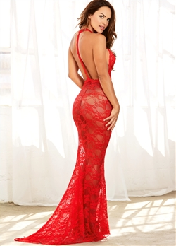 Sexy Lace Mermaid Gown Set