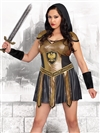 DEADLY WARRIOR 2 PC Plus Size Costume