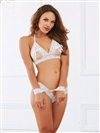 Love 3 PC Bralette Set With Restraints