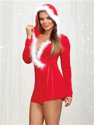 Holiday Maker Soft Jersey Wrap Robe