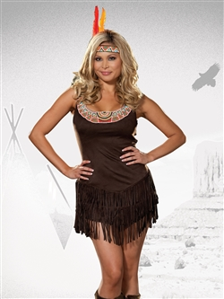 POCAHOTTIE 2 PC Plus Size Costume
