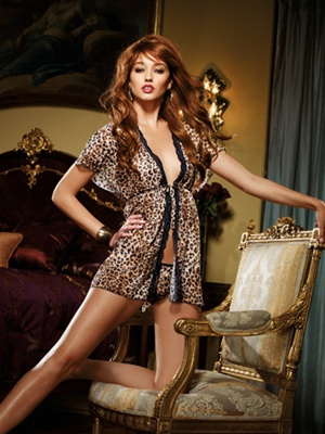 Dangerous Affair 2 PC Robe Set