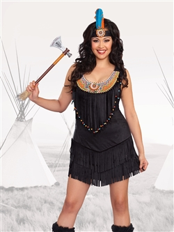 """RESERVATION ROYALTY 2 PC Plus Size Costume"