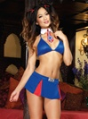 Cheerleader Flirt 4 PC Set