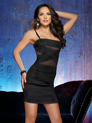 Sexy Bodycon Bandage Club Dress