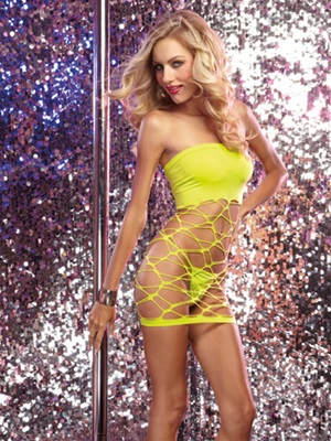 Versatile Seamless Opaque And Slashed Dress Set