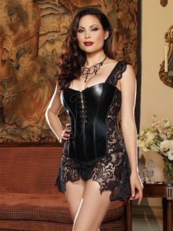 Beyonc� Corset 2 PC Set