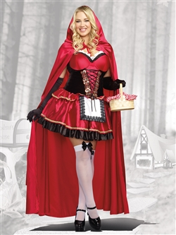 CAN-CAN CUTIE 3 PC Plus Size Costume