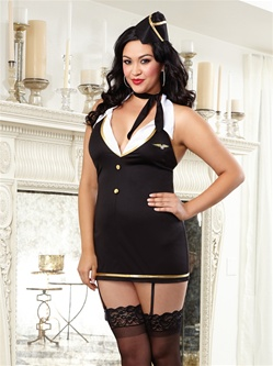 Plus Size Sexy Mile High Hottie 4 PC Set