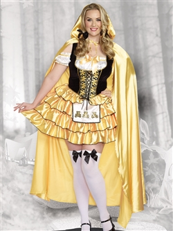 GOLDILOCKS 2 PC Plus Size Costume