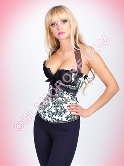 Victoria Push Up 2 PC Corset Set