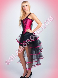 Burlesque Corset And Bustle Skirt