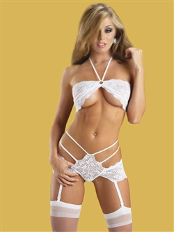 2 PC Lace Garter Set