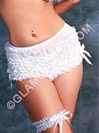 Flirty Ruffle Panties With Bows