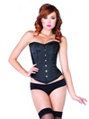 Steel Boned Satin Corset