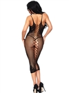 Seamless Net Sexy Bodycon Dress