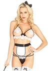 Naughty French Maid 4 PC Set