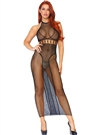 Long Net Slimming Design Dress
