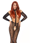 Harness Halter Crotchless Bodystocking
