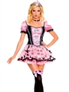 Pink Couture Queen of Hearts 3 PC Costume
