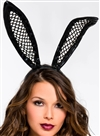 Fishnet Bunny Headband