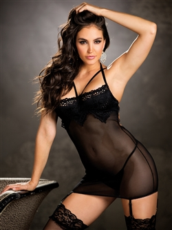 Shirley Of Hollywood Tantalizing Chemise Set