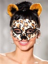 Leopard Mask And Ears Set