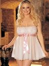 Plus Size Tie Front Babydoll
