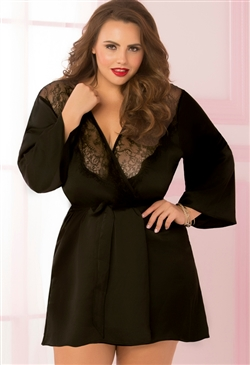 Toast of the Town Plus Size Robe