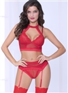 Nothing But Net  3 PC Sexy Crotchless Set