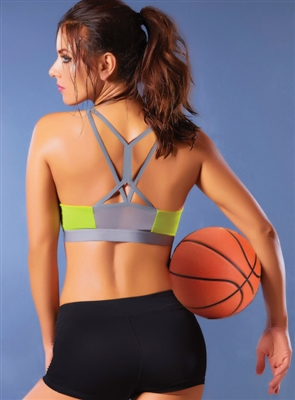 Crush It Strappy Sports Bra
