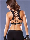Knockout Corset Back Sports Bra
