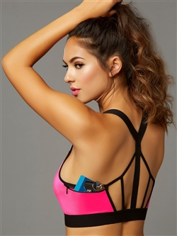 Earn It Sports Bra With Pocket