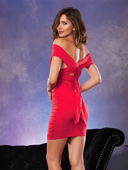 Stretch Jersey Multi-Way 6-in-1 Mid-Thigh Club Dress