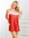 Holiday Satin Toga Chemise
