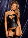 Heart Me Fetish 3 PC Corset Set With Choker