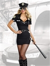 DIRTY COP OFFICER ANITA BRIBE 5 PC Costume