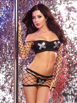 Studded X Fence Net 3 PC Set